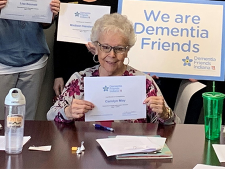 Helping a Friend with Dementia