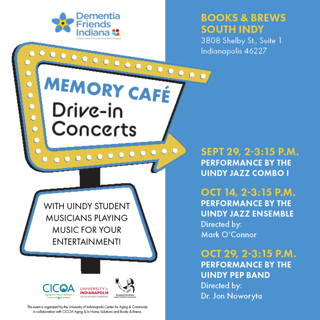 Memory Café Drive-in Concerts