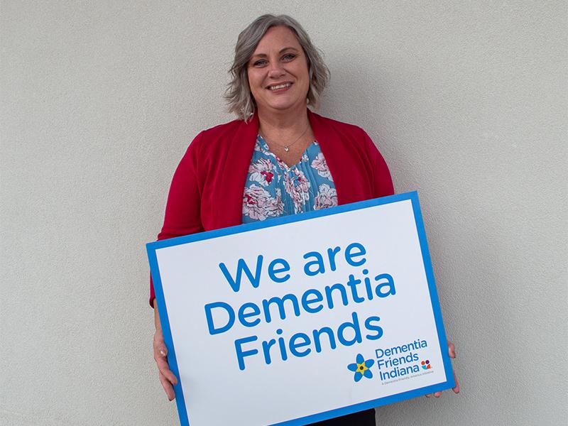 Helee Adkins Dementia Friends Champion